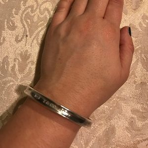 Tiffany and Co. gently used sterling silver bangle