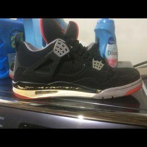 Nike Shoes | Bred 4s Jordans Size 15