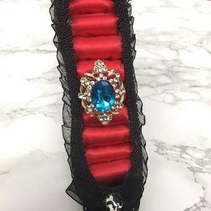 S Rosebud Fashions Jewelry - 🎁Royally Precious Bling Adjustable Ring
