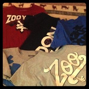 Zoo York Tops - 5 Zoo York shirts selling as a Bundle