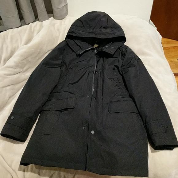 3c67b36b81f Michael Kors Hooded Bib Snorkel Coat