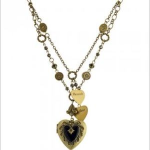 Jewelry - LARGE Antique Locket Necklace