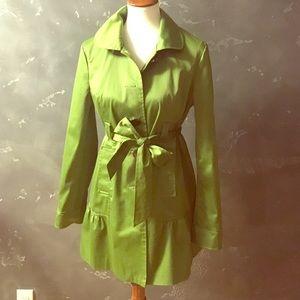 Mac & Jac Green Trench Coat