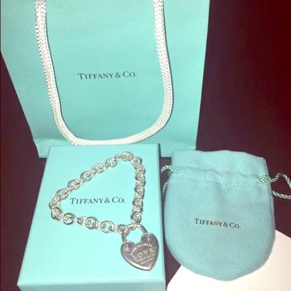 6bf7257a51 Tiffany & Co. Jewelry | Return To Tiffany Love Lock Bracelet | Poshmark