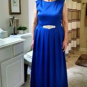 Floor length gala dress