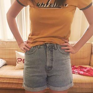 Vintage GUESS High Waisted Denim Shorts
