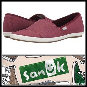 Sanuk Shoes - KATS MEOW CANVAS SLIP-ON