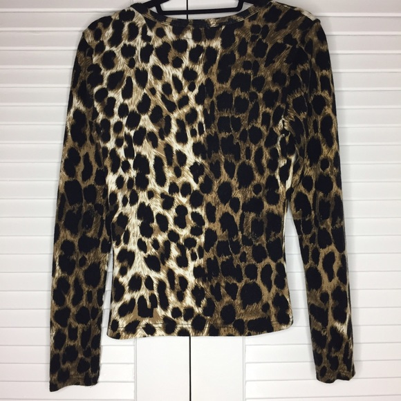 Urban Outfitters Sweaters - Urban Outfitters Tripp NYC Leopard Print