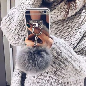 Accessories - ‼️1 HOUR SALE‼️Metal Rope Mirror Tassel IphoneCase