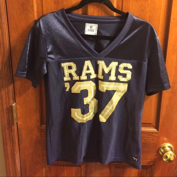9a12d8616 Victoria Secret Pink LA Rams Football Jersey 🏈. M 584a57da4225bec27f01497b