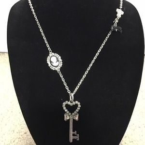 Tarina Tarantino Jewelry - Tarina Tarantino heart key necklace