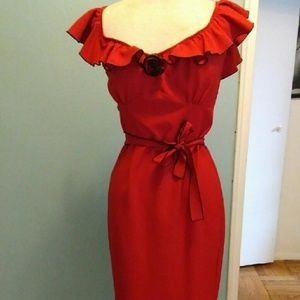 Stop Staring Dresses & Skirts - Sale!!Red stop staring! Dress free hair accessory!