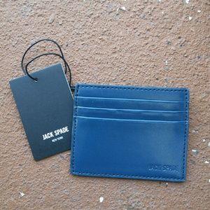 Jack Spade Other - Jack Spade Walker Leather 6 Card Holder Wallet