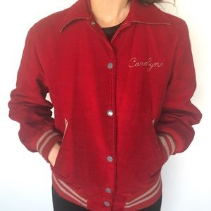 Jackets & Blazers - '85 Vintage Ladies Letterman Jacket