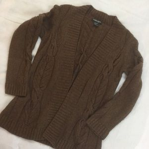 ❄️ Brown Cashmere Sweater Knit Cardigan ❄️
