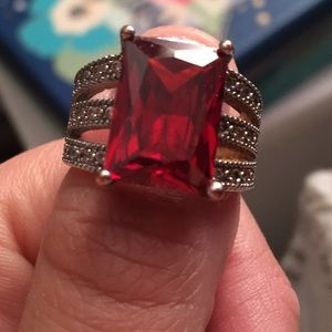 Other - Ruby red ring