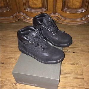 Timberlands field boots Black