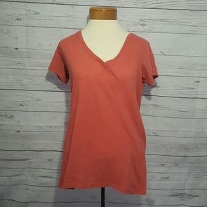 Threads 4 Thought Tops - Threads 4 Thought Red V- Neck
