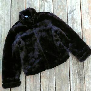 Gap Faux Fur Bomber Coat