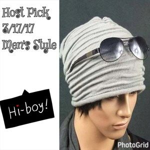 Other - 🎉HP🎉! Light Gray Beanie