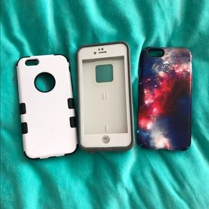 LifeProof Other - 3 Iphone6 Cases-Speck, LifeProof and unknown brand