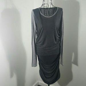 10 Crosby Derek Lam Dresses & Skirts - DEREK LAM 10 CROSBY large baseball t style DRESS