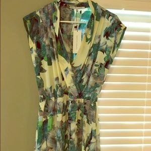 Arlen floral wrap dress, collective concepts