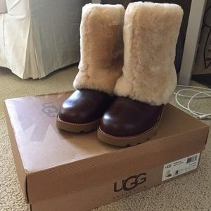 5d38c6d0027 UGG Patten Leather Boots BRAND NEW IN BOX