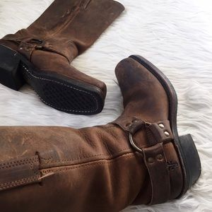 Frye Shoes - • Frye • Brown Harness Boots