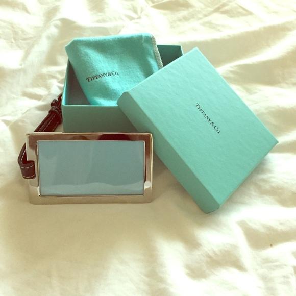 Tiffany Million Miler Luggage Tag