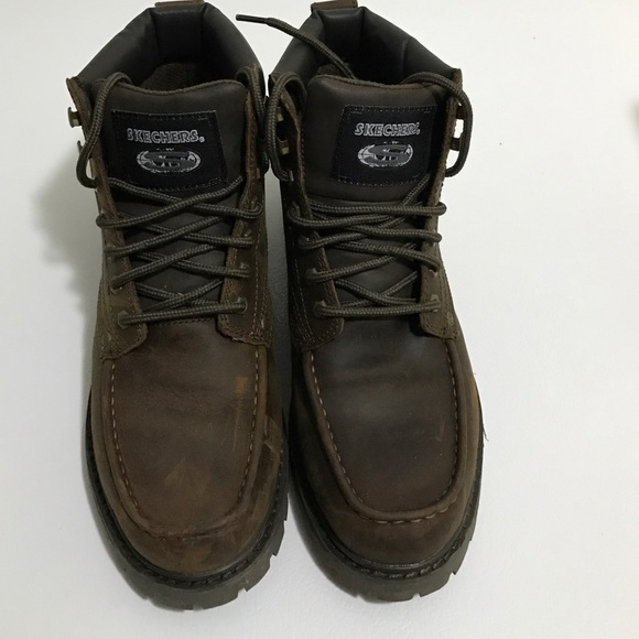 skechers mens snow boots