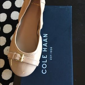Auth like new Cole Haan Jenni Buckle ballet flat
