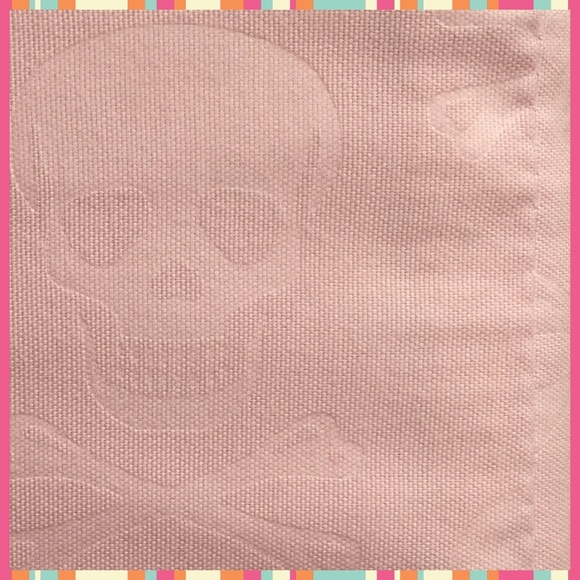 26% off betsey johnson other - betsey johnson pink skull embossed