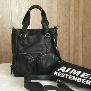 Aimee Kestenberg Handbags - AIMEE Kestenberg black leather handbag. New.