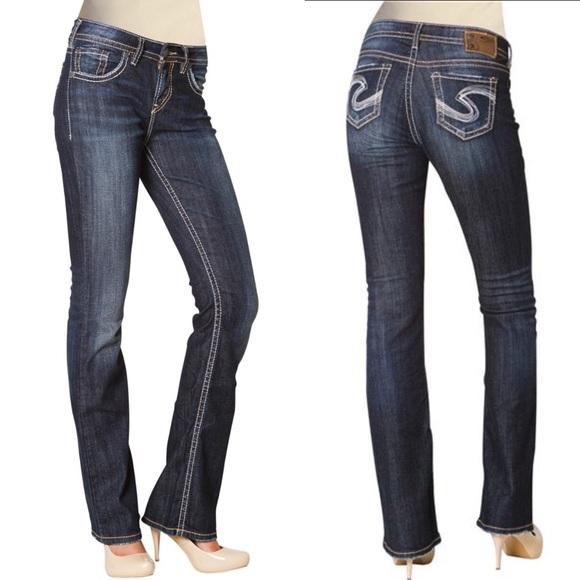 Silver Jeans - 🌿28 Silver Jeans Natsuki Long Dark Wash Bootcut ...