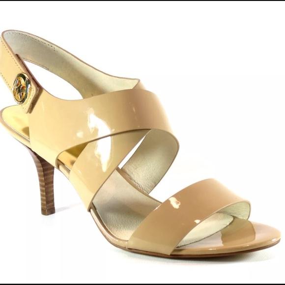 e6f04e75a11 Michael Kors JOSELLE OPEN TOE Heels Sandals. M 5915aa1e7fab3a74bd000822