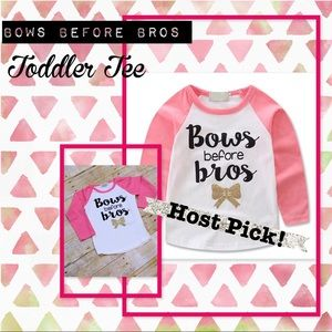 Other - LAST ONE! HP! Bows Before Bros Toddler Tee