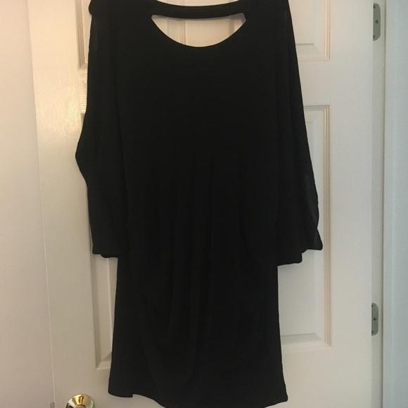 Forever 21 Dresses Black Grecian Dress Poshmark