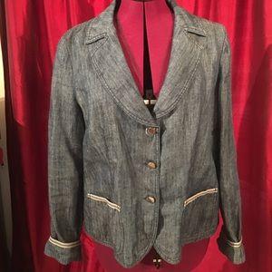 Armani denim jacket/blazer