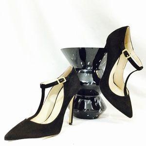 🚨 CHARLES DAVID Italian NIB 8 Black Heels