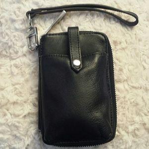 Aimee Kestenberg Handbags - Aimee Kestenberg Nicole Leather Phone Wristlet