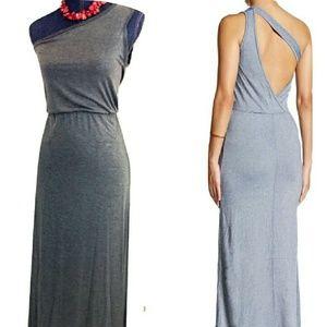 GO Couture NWOT Open Back Medium Maxi Dress