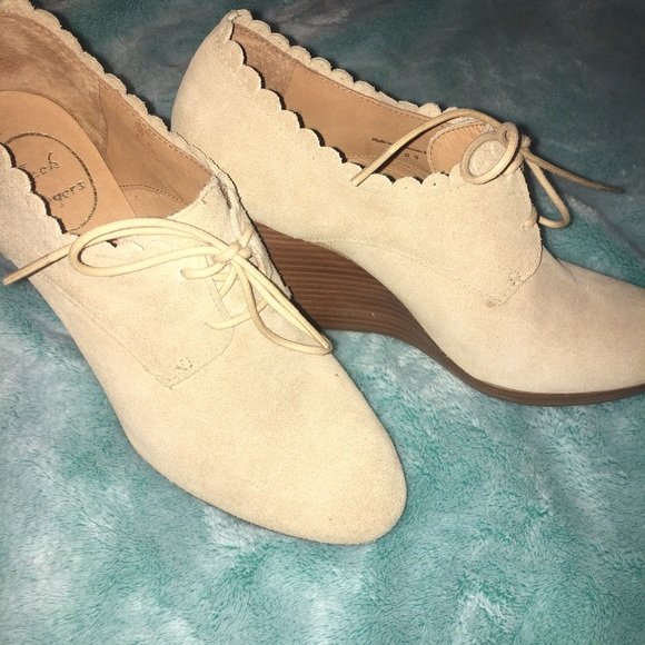 2b3dddb1e20 Jack Rogers Shoes - Jack Rogers Olivia Wedge Bootie Suede