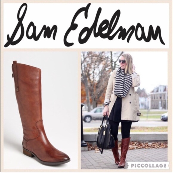 7347e5a12 Sam Edelman Shoes - 🍂Sam Edelman Penny Boot Whiskey sz 8-WC