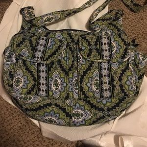 Green/ Blue Vera Bradley bag