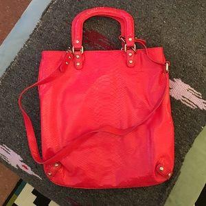Club Monaco Tricia tote bag leather