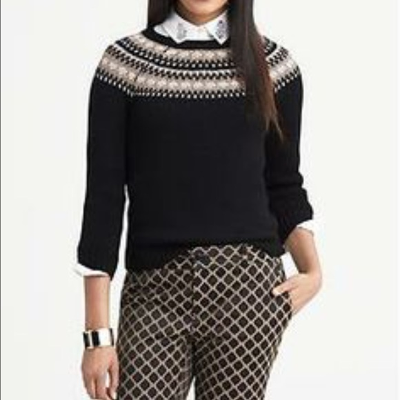 73% off Banana Republic Sweaters - Banana Republic fairisle yoke ...