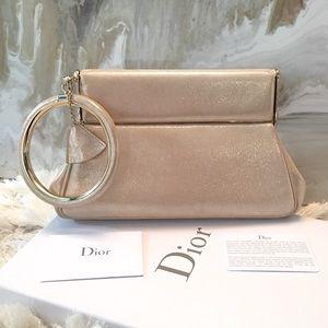Dior Handbags - $3K Christian Dior Babe Bracelet Bangle Clutch Bag