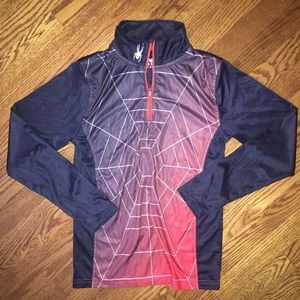 Spyder Other - Spyder top with 1/4 zip...Size M