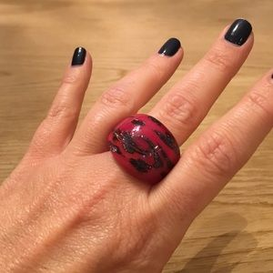 Murano Jewelry - MURANO GLASS STATEMENT RING